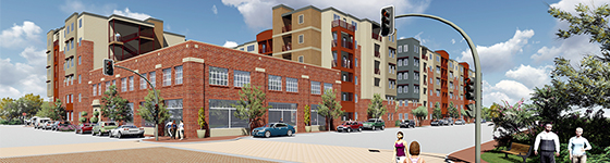 Construction Begins on Highpoint on South Main in Fort Worth