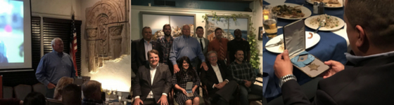 KWA Construction Invites Special Dinner Guest to Honor Veteran Employees