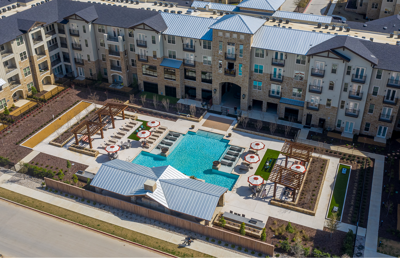 Construction Wraps on Multifamily Located in Mega Town Center