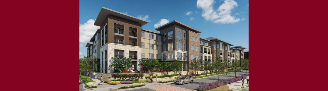 KWA Construction Tops Out on Second Phase of Arlington Commons